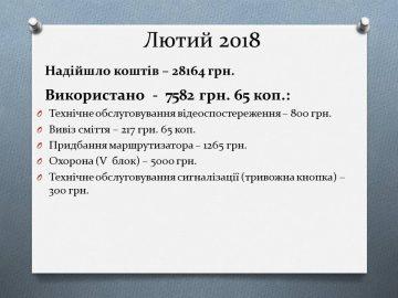 ЗВІТлютий2018